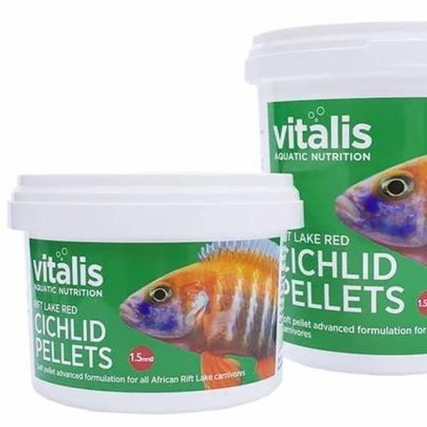 Bilde av vitalis Rift Lake Red Cichlid Pellets S Pellet Size  140g