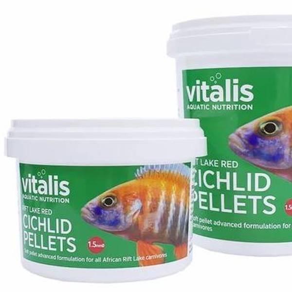 Bilde av vitalis Rift Lake Red Cichlid Pellets S Pellet Size  260g