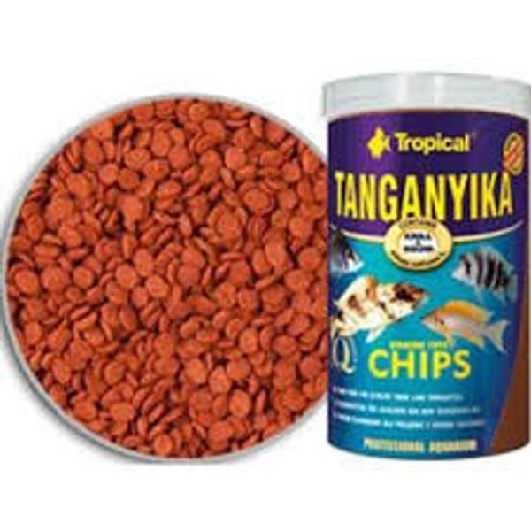 Bilde av TANGANYIKA CHIPS 1000 ML. / 520 G.
