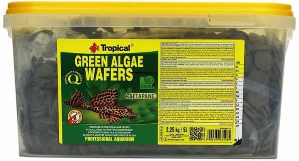 Bilde av Green Algae Wafers 5 L. / 2,25 kg.